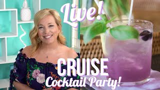 "LIVE Cruise Q&A and ""Purple Rain"" Cocktail Party"