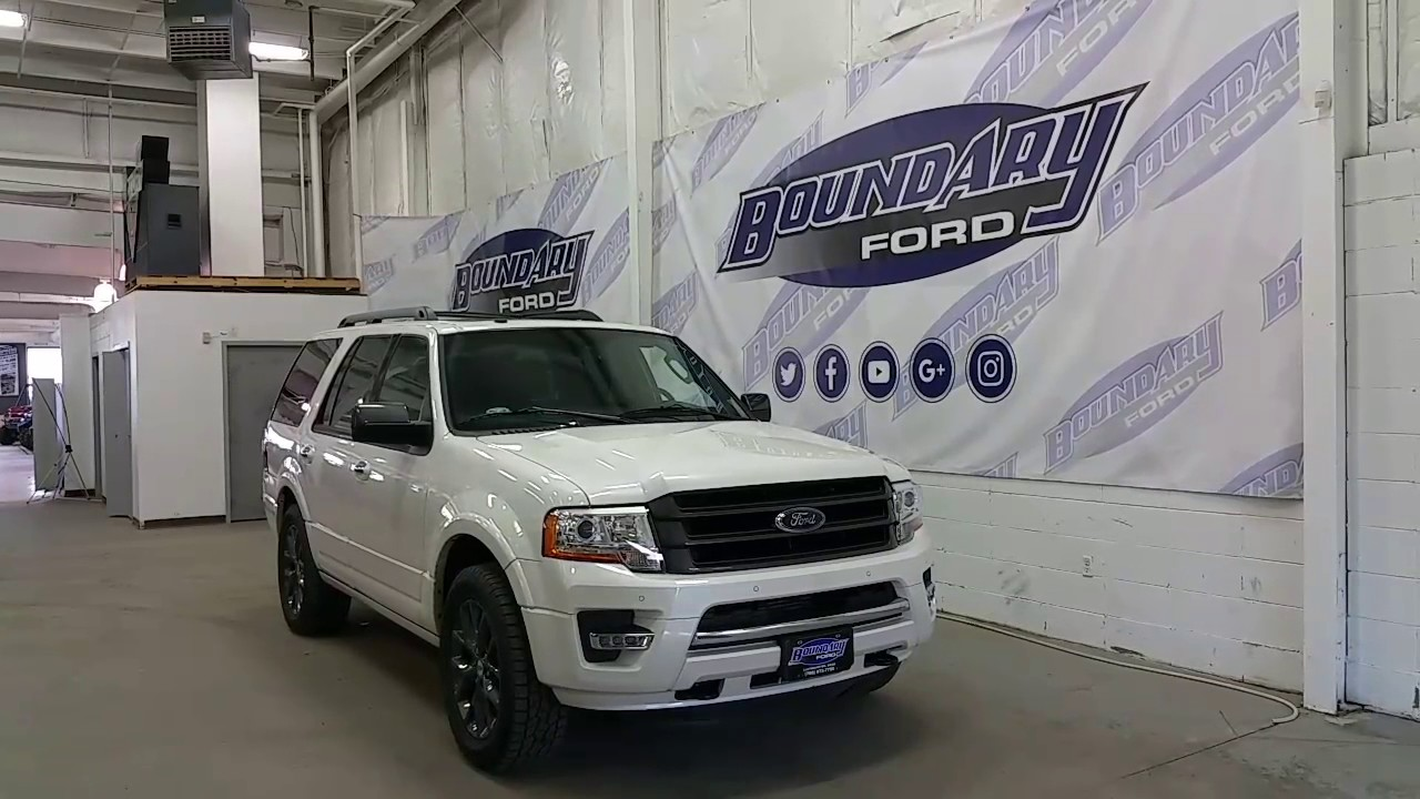 Ford Expedition Limited Appearance Package W Ecoboost Review Boundary Ford
