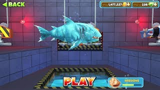 Hungry Shark Evolution Ice Shark Android Gameplay #38