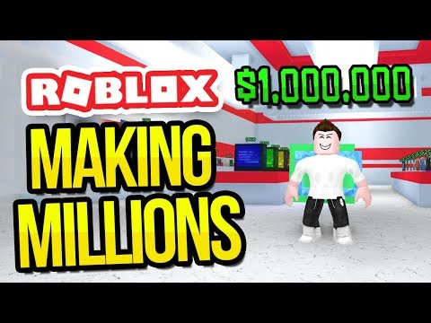 MAKING MILLIONS in ROBLOX SHOPPING SIMULATOR