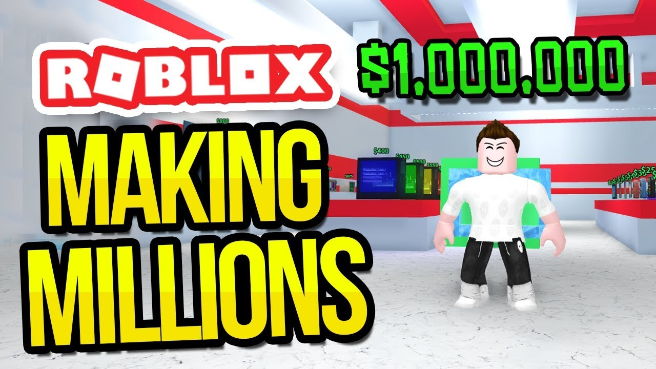 Making Millions In Roblox Shopping Simulator Youtube