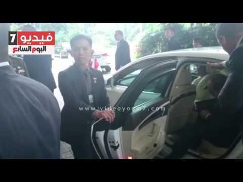 اليوم السابع : بالفيديو .. السيسى يصل سنغافورة فى مستهل جولته الآسيوية