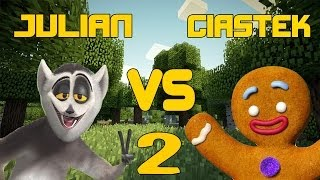 Król Julian vs Ciastek #2 - Blitz Survival Games!