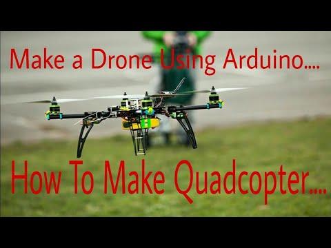 How to Make a Drone Using Arduino UNO | Make a Quadcopter Using