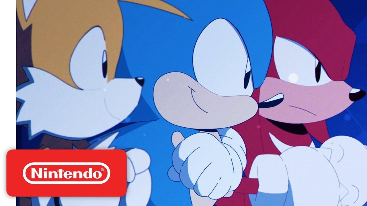 Sonic Mania Launch Trailer - Nintendo Switch