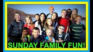 SUNDAY FAMILY FUN! | FAMILY VLOG!