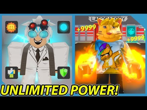 How To Get Unlimited Power In Roblox Superhero City - YouTube