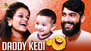 கடி மன்னன் Family Interview | Daddy Kedi Kadi Jokes | Saatvik kutta