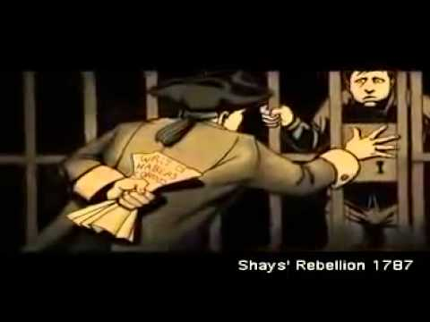 Shay's Rebellion 1787 REVOLT Against the Blue Blood Masons - REAL American History