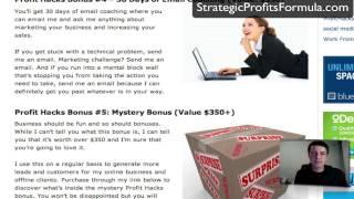 Profit Hacks Bonus - [Watch This First] for the best bonus package