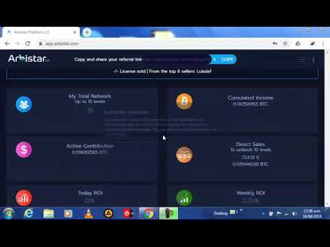 Ârbistar 2.0 the best company to get real profit with cryptocurrencies 2019*****