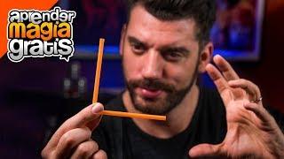 Truco de magia con popote  - Como doblar un popote con la mente - Truco de magia revelado   Zen Bend