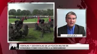 En Honduras elevar a la Policía Militar a rango constitucional no reducirá la delincuencia