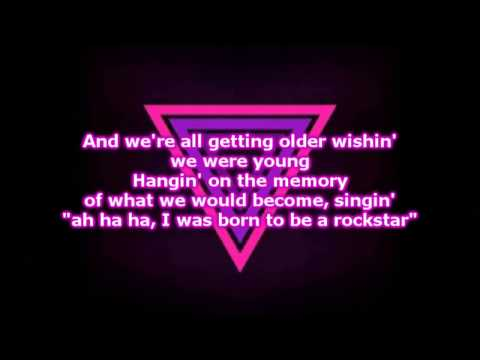 A GREAT BIG WORLD -  Rockstar Lyrics