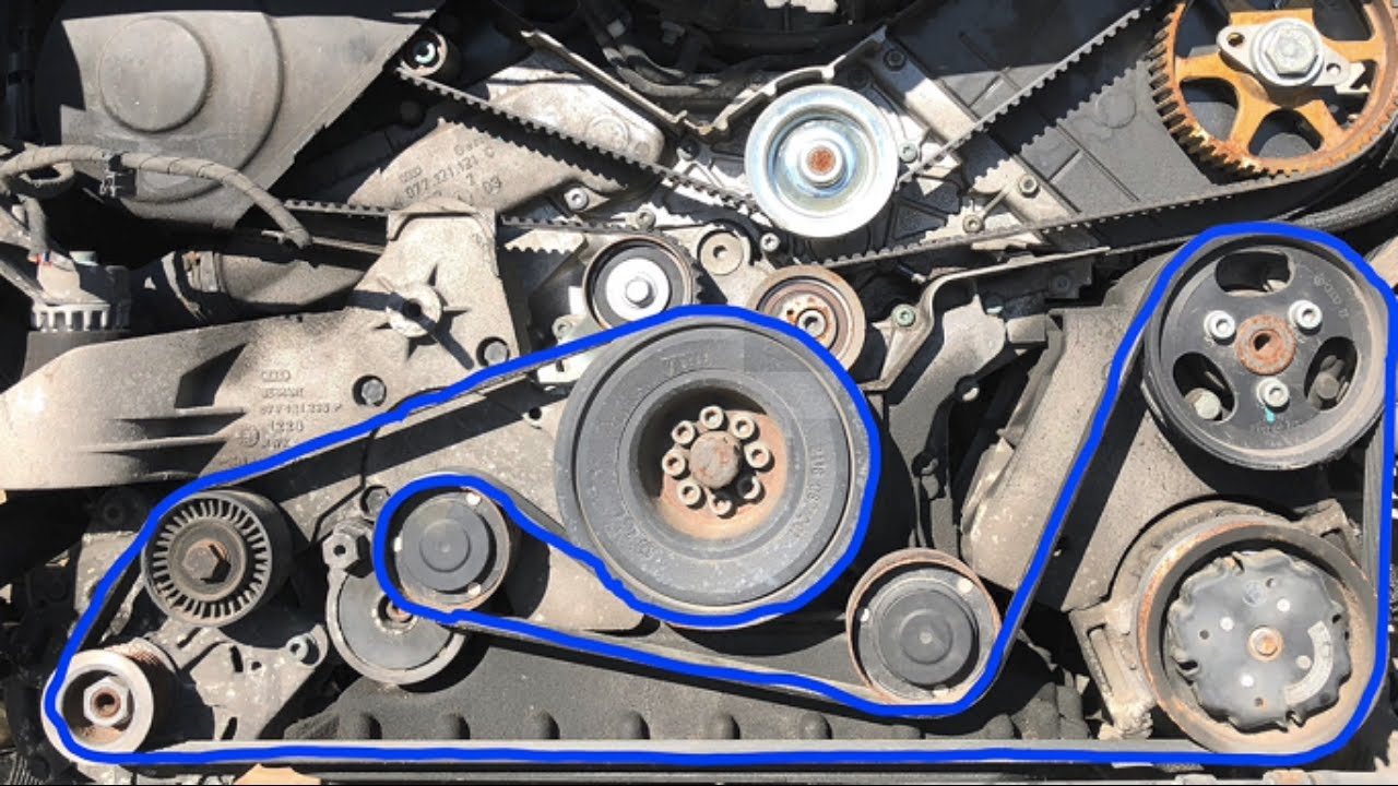 What Does A Serpentine Belt Do >> What Does The Serpentine Belt Do The Allstate Blog
