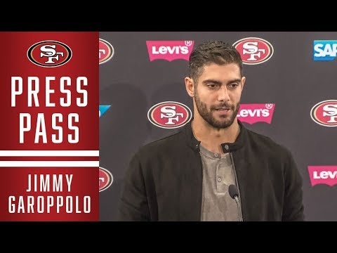 Jimmy Garoppolo Recaps 'MNF' | 49ers
