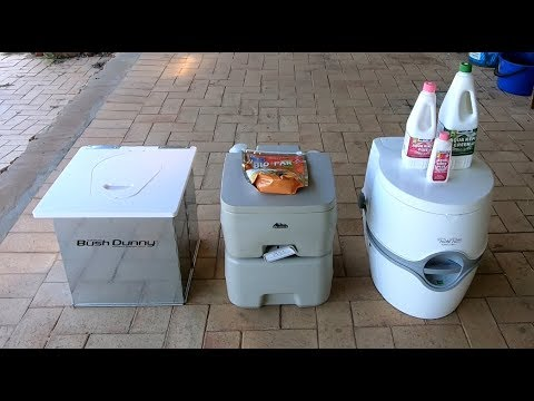 Portable Camping Toilets. What Worked Best For Us