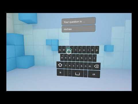 VR keyboard unity3D