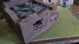 Warhammer 40k Terrain Imperial Guard,orks And Building.2.