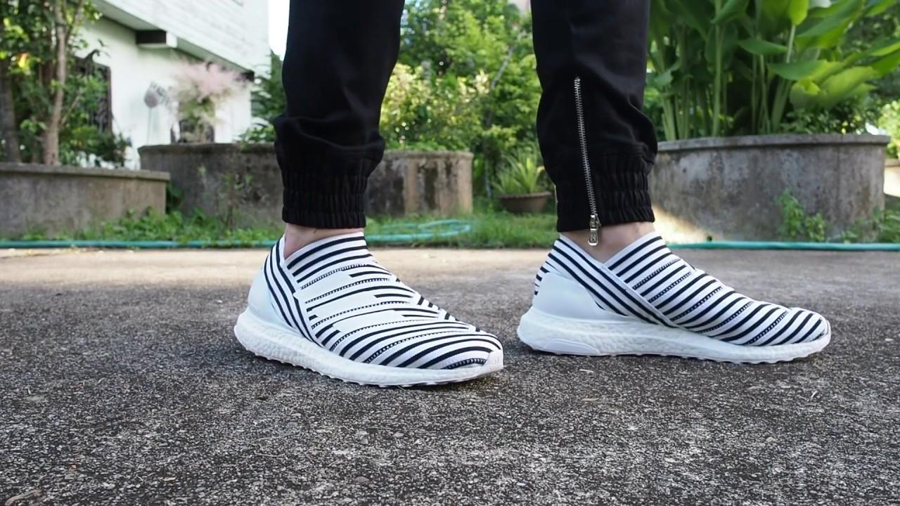 1a2396d417f Adidas Ultraboost Nemeziz Tango17+ 360 Agility on feet