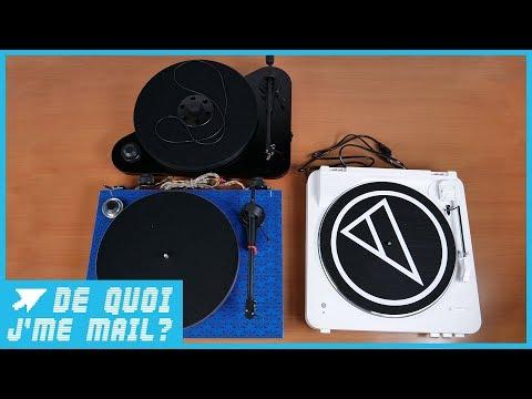 La platine vinyle connectée en bluetooth arrive ! DQJMM (2/2)