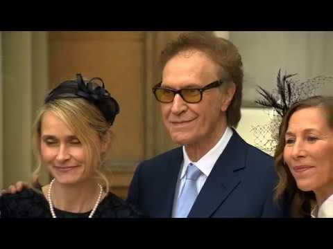 Kinks frontman Ray Davies knighted by Prince Charles