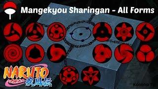 Mangekyō Sharingan - All Forms and Jutsu (Update Shin Uchiha)