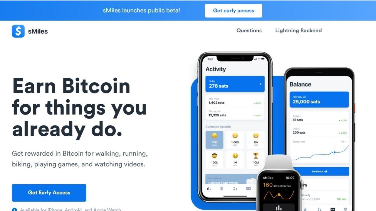 bitcoin walking app)