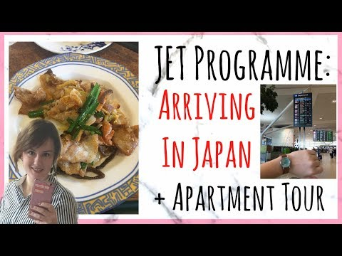 JET Programme | Finally In Japan Vlog + Mini Apartment Tour
