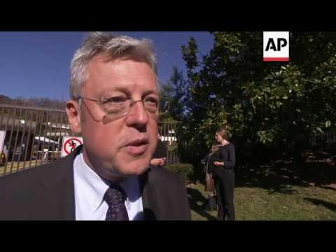 Paris Memorial Grows at French Embassy in DC