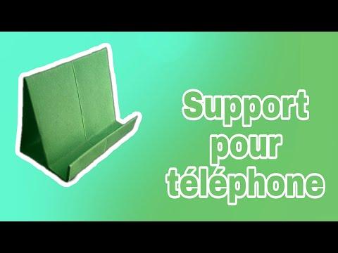 Bricolage facile – support pour téléphone