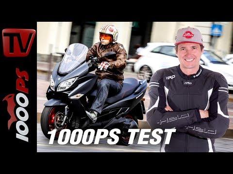 Suzuki Burgman 400 2018 Test - Erfahrungen aus der Praxis