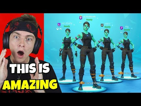 introducing the GHOUL GALAXY GANG in fortnite... (fricking cool)