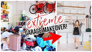 NEW 2020 EXTREME CLEAN WITH ME EPIC GARAGE MAKEOVER! FALL 2020 Brianna K CLEANING MOTIVATION
