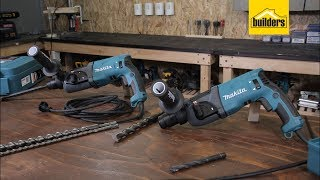 makita Hr2460 and Hr2470 Rotary Hammer Drills Review