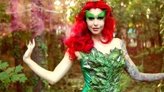 Poison Ivy (Batman and Robin) Makeup & Costume Tutorial | Halloween 2015