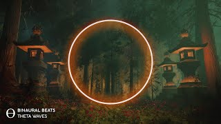 "🎧 Sleep Music for DEEP SLEEPING [ 5Hz Theta ] ""Forest Retreat"" Binaural Beats"