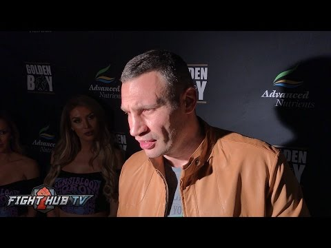 "Vitali Klitschko ""If Wladimir is focused 100%, Joshua doesn't have a chance!"""