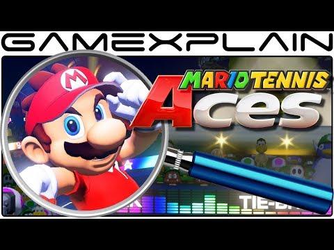 Download Youtube: Mario Tennis Aces ANALYSIS - Reveal Trailer (Secrets & Hidden Details!)