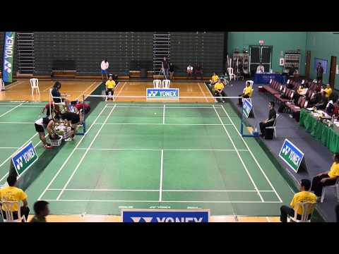 2013 USA Badminton Adult National Championships Mixed Double FINAL 1080P HD