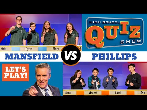 High School Quiz Show - Mansfield vs. Phillips (906)