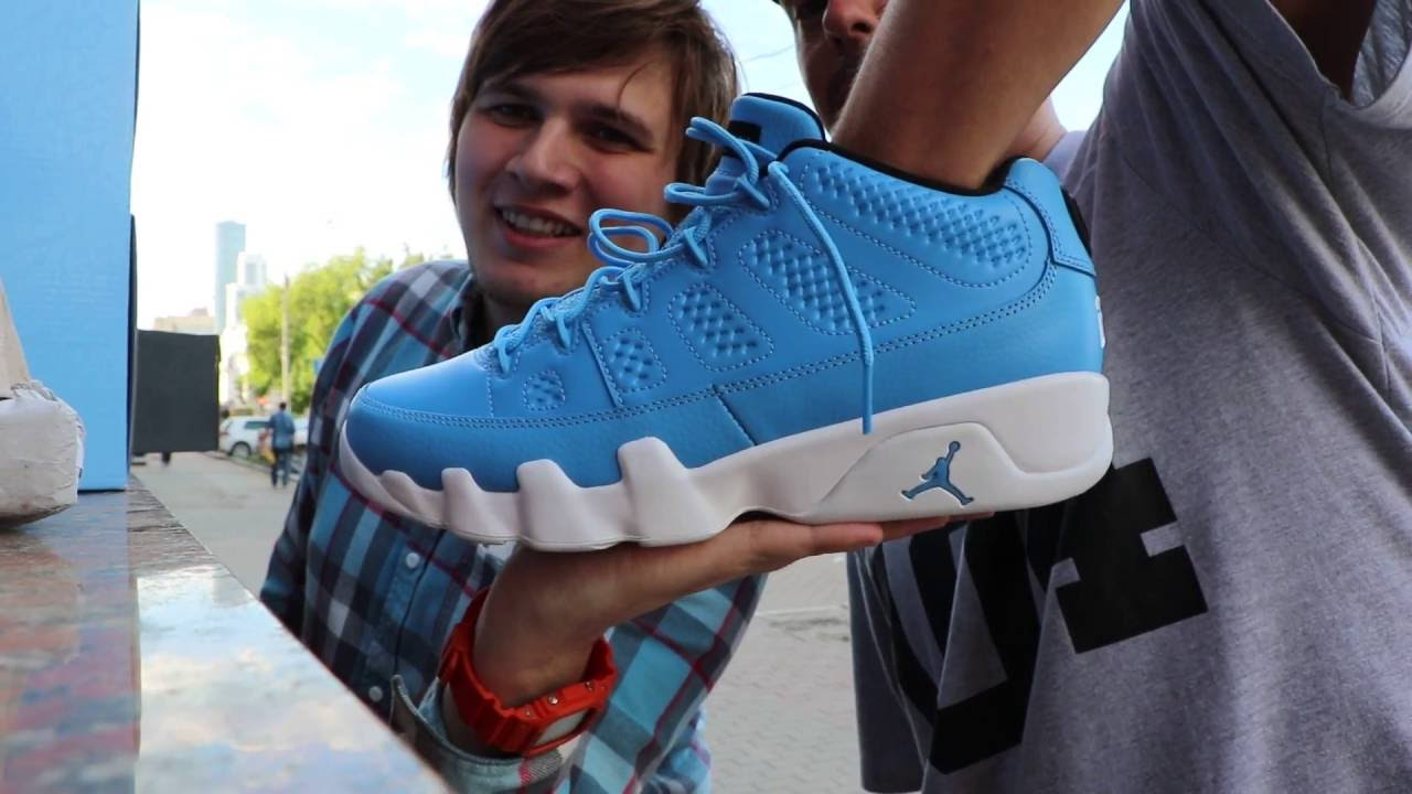 blue university Jordan retro 9 low Pantone ProStalk Air uKlc35FT1J