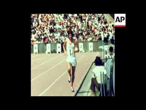 SYND 15-7-72 DAVID BEDFORD WINS 5,000 AND 10,000 METRES RACES