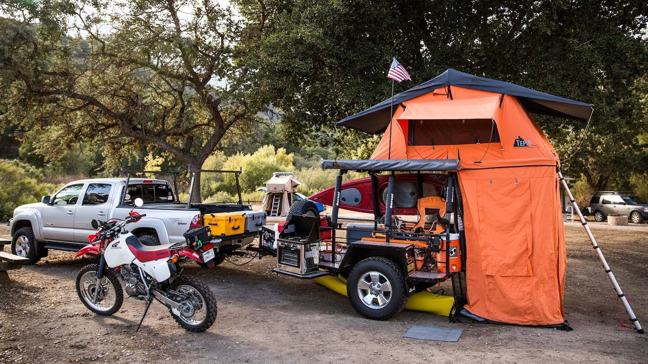 Inside One Of The Coolest Custom Camping Trailers We Ve