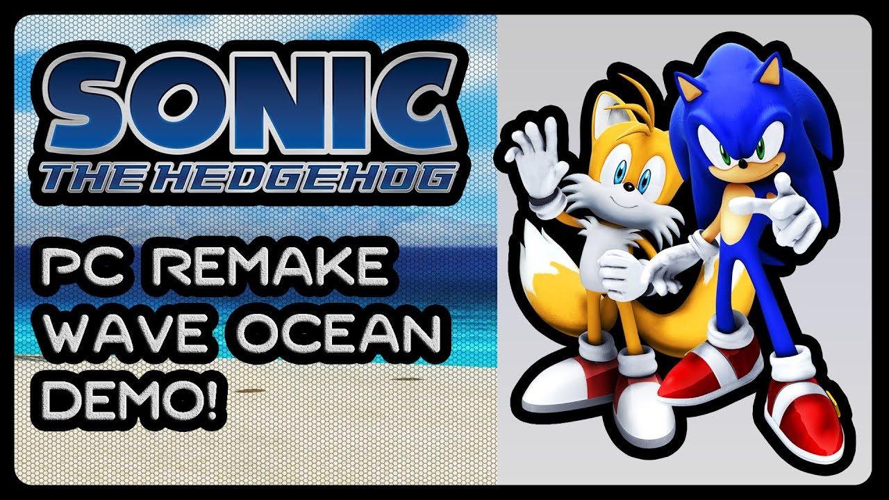Sonic 06 PC Remake - Wave Ocean Demo! (4K/60fps) #WIP #SonicAndTailsGameplay