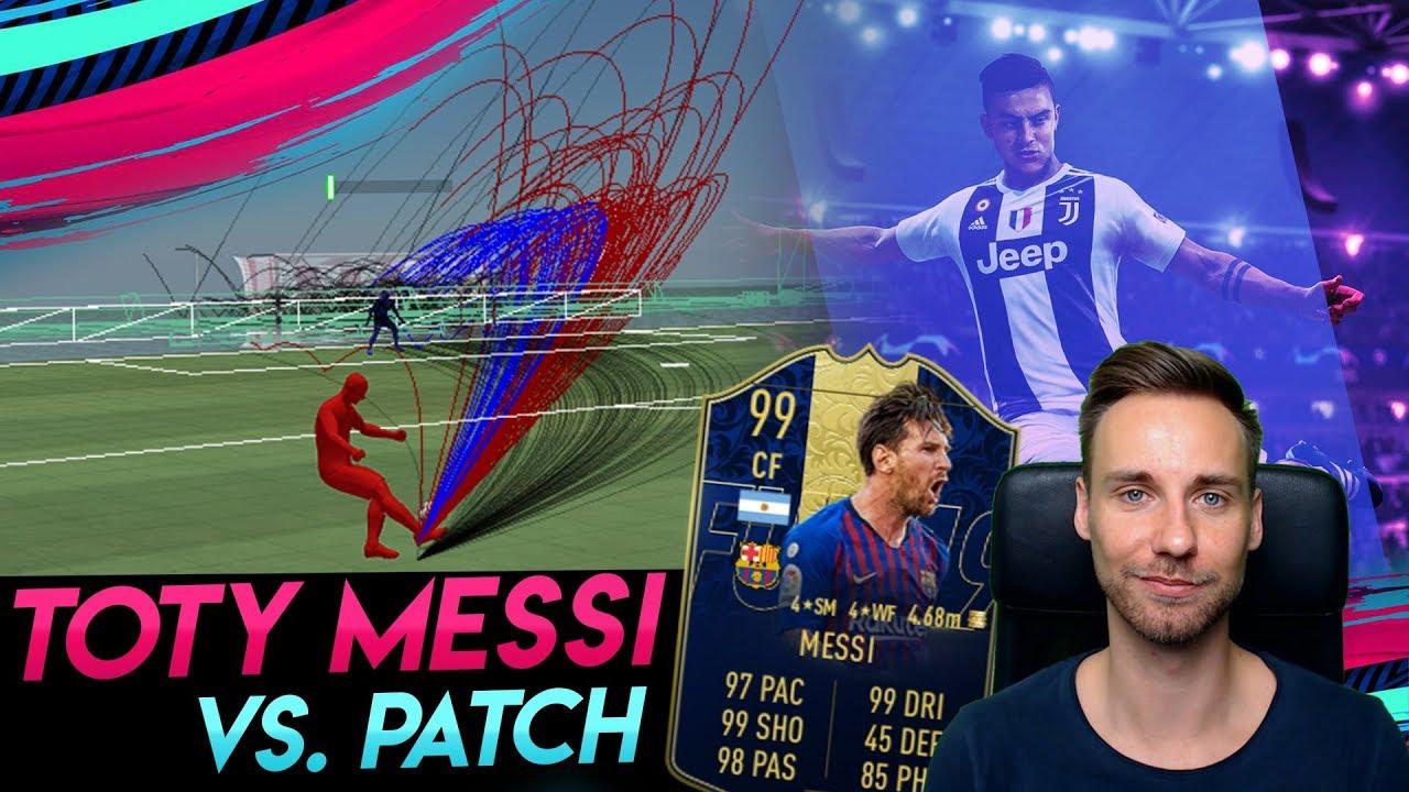 TOTY Messi vs. NEUEN PATCH! ???? Finesse-Schüsse im Test | 189er Draft | FIFA 19 LP UT #24