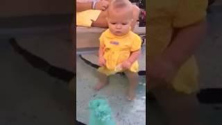 Baby funny swimming (Raju Kanakam)