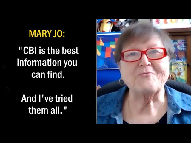 Mary Jo: CBI is Always There For You