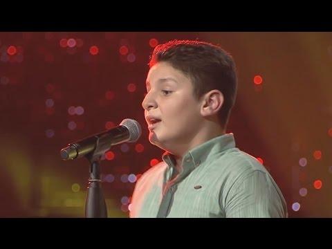 فيديو اغنية علاء ناصر ليالي الأنس كاملة HD ذا فويس كيدز