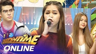 "It's Showtime Online: Marielle Montellano sings ""The Christmas Song"""